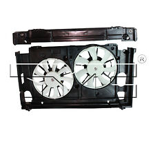 Dual Radiator and Condenser Cooling Fan Assembly For 2010-2014 Toyota Prius