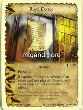 A Game of Thrones LCG - 1x Royal Decree  #098 - The Prize of the North