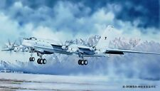 Trumpeter 01601 Tupolev TU-95MS 'Bear-H' Plasctic Kit 1:72 Scale Free T48 Post