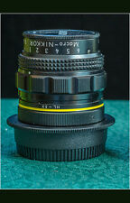 Legendary Multiphot Macro Nikkor 65mm f/4.5 in Nikon Mount