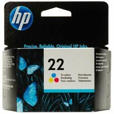GENUINE AUTHENTIC HP HEWLETT PACKARD HP 22 COLOUR INK CARTRIDGE C9352AE C9352A