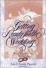 GETTING READY FOR THE WEDDING LES LESLIE PARROTT CHRISTIAN BOOK PB 1997 LIKE NEW