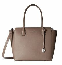 ❤️NWT MICHAEL KORS MERCER LARGE LEATHER SATCHEL TOTE BAG HANDBAG❤️CINDER
