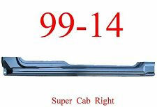 09 14 RIGHT Super Cab, Extended Rocker Panel OEM Type, Ford F150 Truck, 1989-106