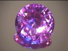 8.5  mm round color change lab simulated Alexandrite