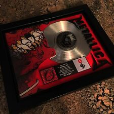 Metallica St Anger Platinum Record Disc Album Music Award MTV RIAA Grammy