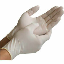 Cas de 1000 gants en latex légèrement en poudre moyen