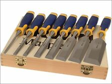 IRWIN Marples - ProTouch Bevel Edge Chisel Set of 6 Plus 2 Chisels FREE