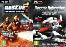 Rescue 2  Everyday Heroes Special Edition & rescue helicopter 2014    new&sealed