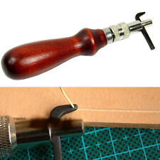 DIY Leathercraft Adjustable Pro Stitching Groover Crease Leather Tools