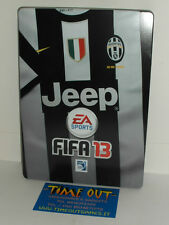 FIFA 13 JUVENTUS STEELBOOK STEELBOX NO GAME XBOX 360 PS3 NEW RARE