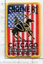 Illinois - Chicago Engine 81 IL Fire Dept Patch