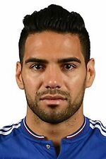 Football Photo RADAMEL FALCAO Chelsea 2015-16