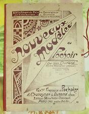 Ancienne Pochette Cartonné Bibliothèque Du Peintre Décorateur 1930/50