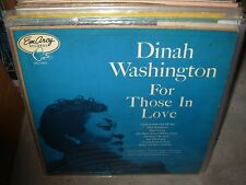 DINAH WASHINGTON / WYNTON KELLY for those in love ( jazz ) - emarcy -