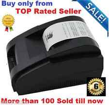 Brand new High speed black USB Port  58mm Thermal printer POS receipt printer