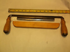 "Draw Knife, Vintage SEARS 10"" Wide Blade Draw Knife With Blade Protector"