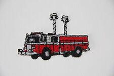 Ecusson patch thermocollant  FABRIQUE EN FRANCE  camion pompier