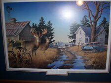 "Larry Zach ""Old Rivals III"" Whitetail deer print / Ducks Unlimited"