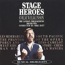 Colm Wilkinson Stage Heroes CD (RCA) Canada