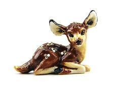 JAY STRONGWATER JANE MINI FAWN BAMBI DEER FIGURINE SWAROVSKI CRYSTALS BRAND NEW