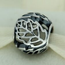 Authentic Pandora 791190 Autumn Bliss Sterling Silver Bead Charm