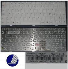 Teclado Qwerty NE Nórdico PB Easy Note BG45 BG46 V021562EK1 004GNQV2KND00 Blanco