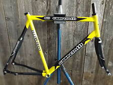New-Old-Stock Guerciotti G35 Road Frame and Fork (59 cm) with Yellow Finish