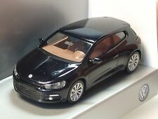 Wiking VW Scirocco schwarz, dealer model - 1/87