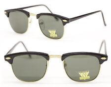 Original Vintage Brille 80er Jahre Alterspuren schwarz Damen o. Herren  306