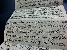 ANCIEN MANUSCRIT BIRMAN BURMA BOOK