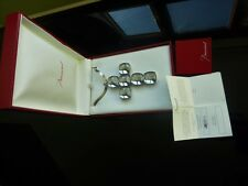 Fabulous Baccarat Statement Ltd Edition Crystal Necklace Solid Silver