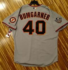 2010 Authentic Madison Bumgarner San Francisco Giants World Series Jersey 54