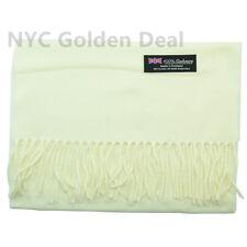 Wholesale Lot Men Women 100% CASHMERE Scarf Scotland Pure Solid Color Super Soft