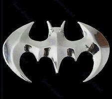 Motorcycle Emblem Sticker 3D Logo Chrome BatMan Bat Man