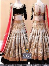 Bollywood Indian Lehenga Party Wear Lengha Choli Wedding Pakistani Lehenga Choli