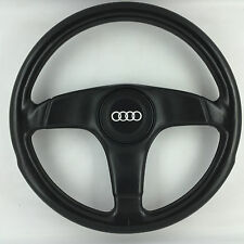 NARDI LEATHER STEERING WHEEL. ORIG. OEM Audi, S2, COUPE, AVANT, quattro,80,90 ETC
