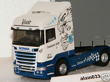 SCANIA STREAMLINE HIGHLINE TAUTLINER TRANSPORTS YVOIR ELIGOR 1/43 Ref 115397