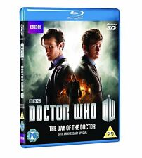 Doctor Who - Day of the Doctor [50th Anniversary Edition] (3D + 2D Blu-ray) NEW
