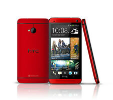 Nuevo HTC One (M7) - 32GB  - Red (Unlocked) Androide TELÉFONO MÓVIL