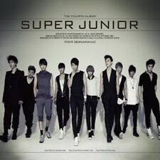 SUPER JUNIOR - [Bonamana] 4th Repackage Album CD+Photo Book Sealed K-POP SM