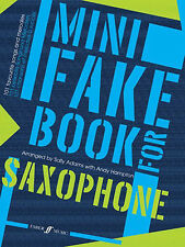 Mini Fake Book For Saxophone Adams, S & Hampton, A Saxophone And Piano Albums