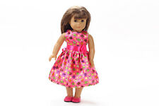 2017 new Handmade clothes dess for 18inch American girl doll party b13