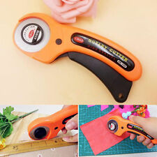45mm Rotary Cutter Quilters Sewing Quilting Fabric Cutting Craft Tool HOT