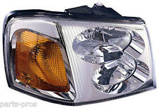 New Replacement Headlight Assembly RH / FOR 2002-09 GMC ENVOY
