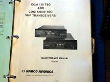 Narco Com 120 and Com 120/20 Service Manual