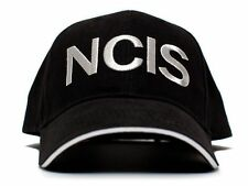 New NCIS Embroidered Curved TV Black Cap Hat Crime Drama Naval Investigation