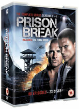 Prison Break Series 1-4 Complete (DVD, 2012, Box-set)