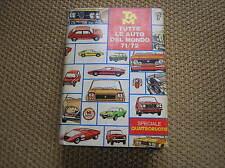 TAM TUTTE LE AUTO DEL MONDO 71/72 1971/1972 SPECIALE QUATTRORUOTE
