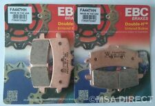 Ducati 1098 (2007 to 2009) EBC FRONT Sintered Brake Pads (FA447HH) (2 Sets)